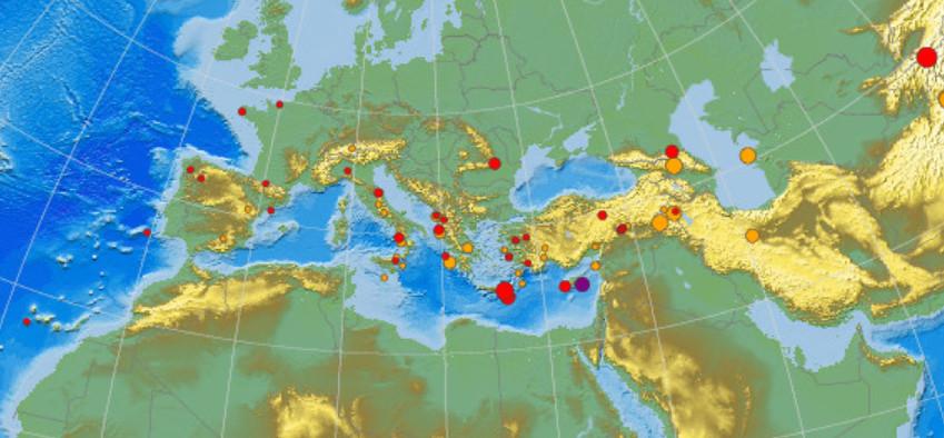 Задвое суток врайоне Каспийского моря произошло три землетрясения