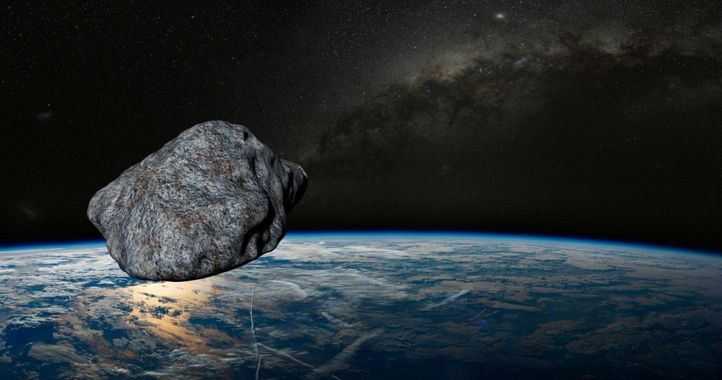 Вплотную кЗемле промчался астероид