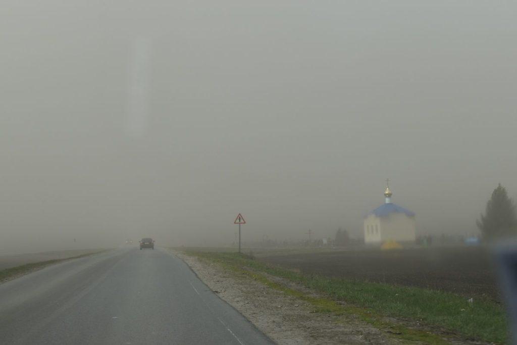 Пылевые бури подбираются кстолице