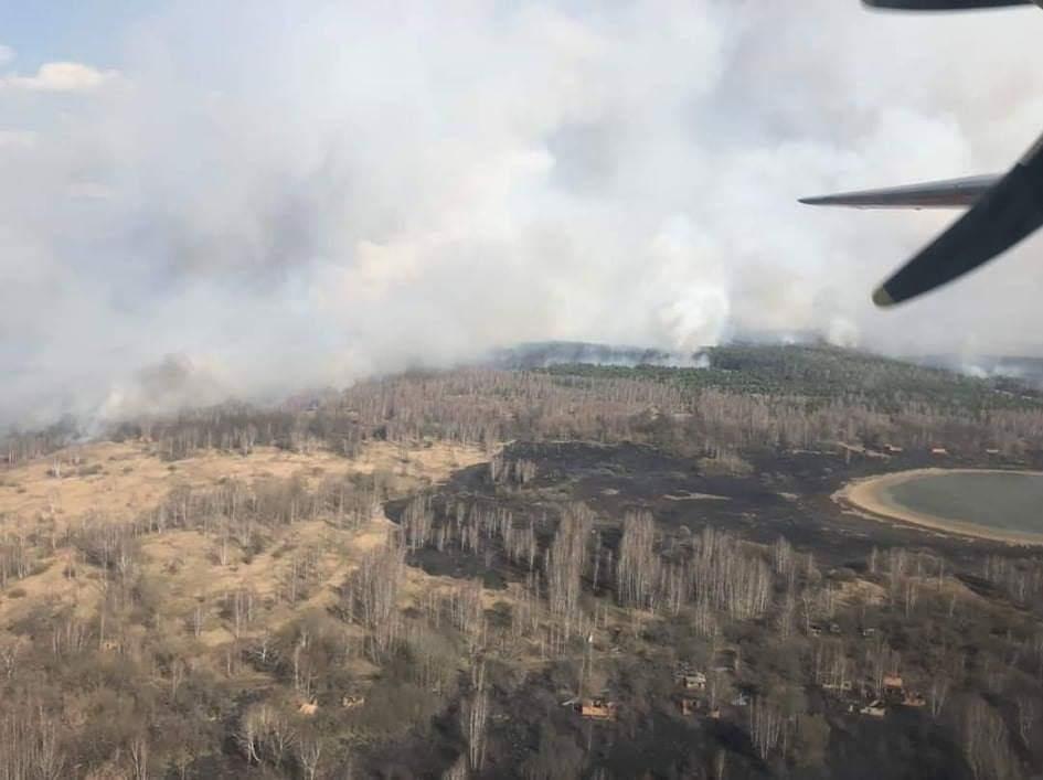 Почему опасны лесные пожары вЧернобыле
