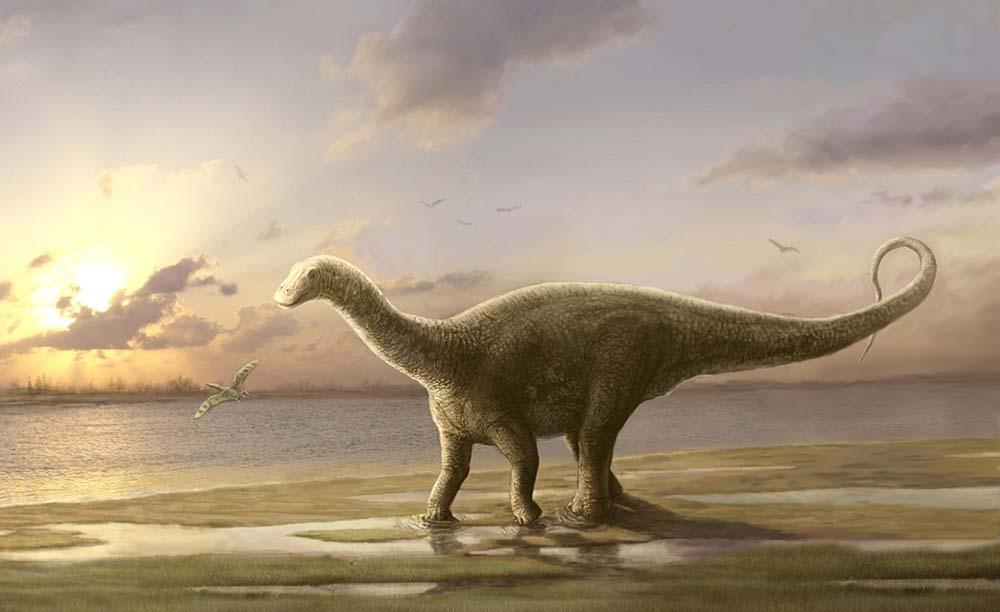 Динозавр-завропод