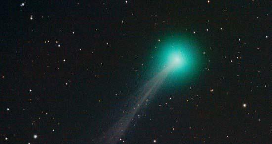 Недавно открытую комету Лебедь можно увидеть невооруженным глазом