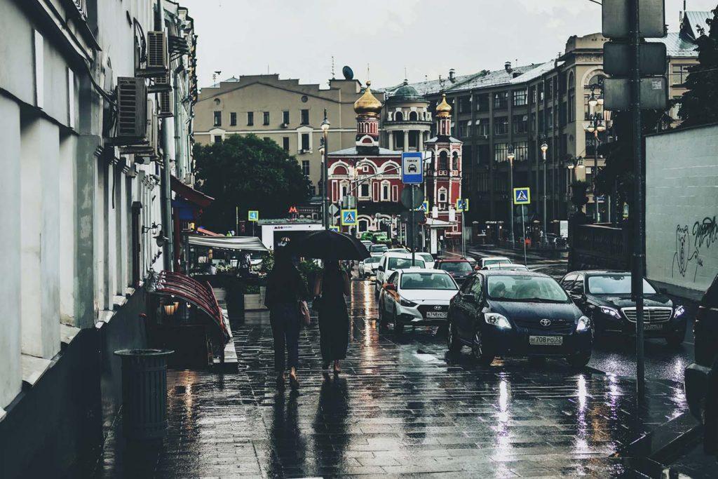 ВМоскве иМосковской области объявили желтый уровень опасности