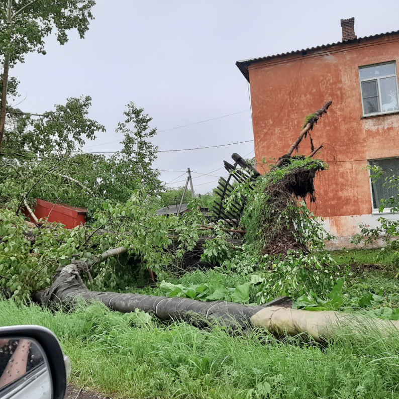 uragan mariinsk foto jany pavlenko