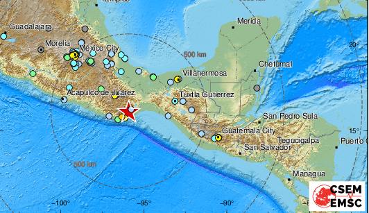 ВМексике произошло землетрясение изаним— цунами