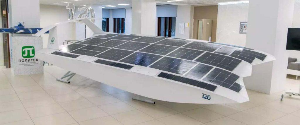 Экраноплан насолнечной энергии создали вСанкт-Петербурге ииспытают наНеве