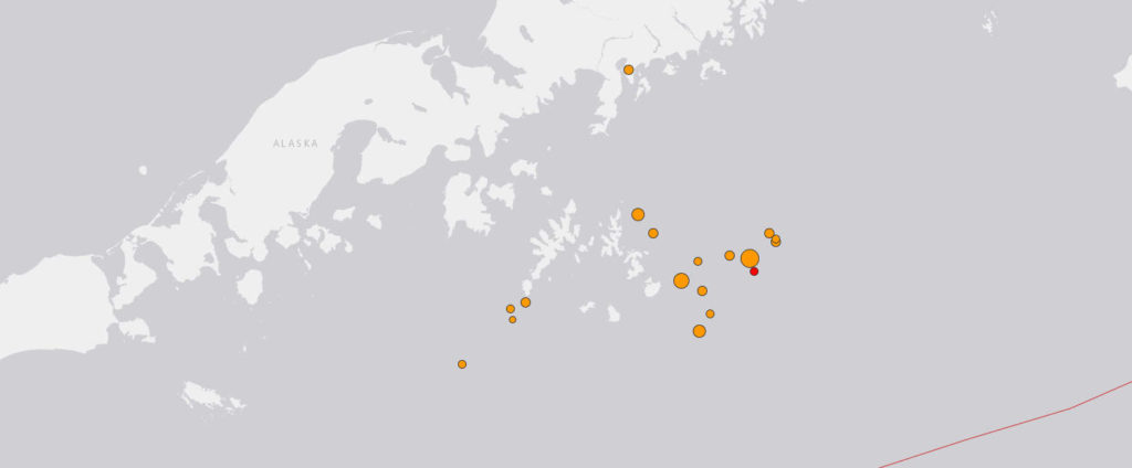 НаАляске произошло сильнейшее землетрясение