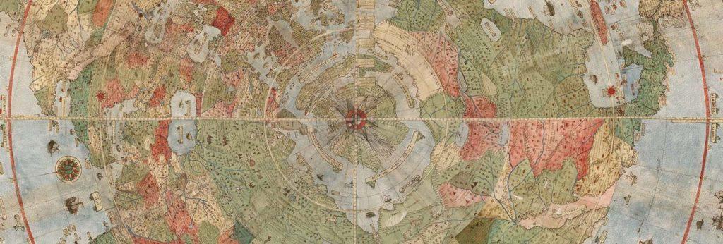 Загадки древней карты. Оцифрована самая большая средневековая карта мира