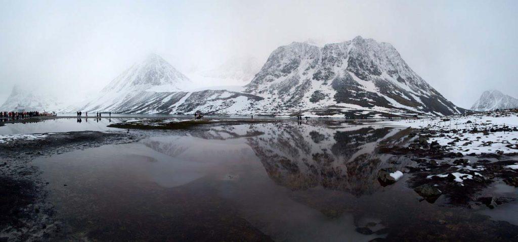 НаШпицбергене побит рекорд арктической жары