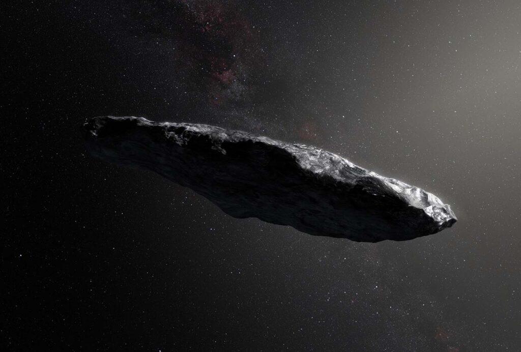 Космический гость Оумуамуа может быть продуктом внеземных технологий