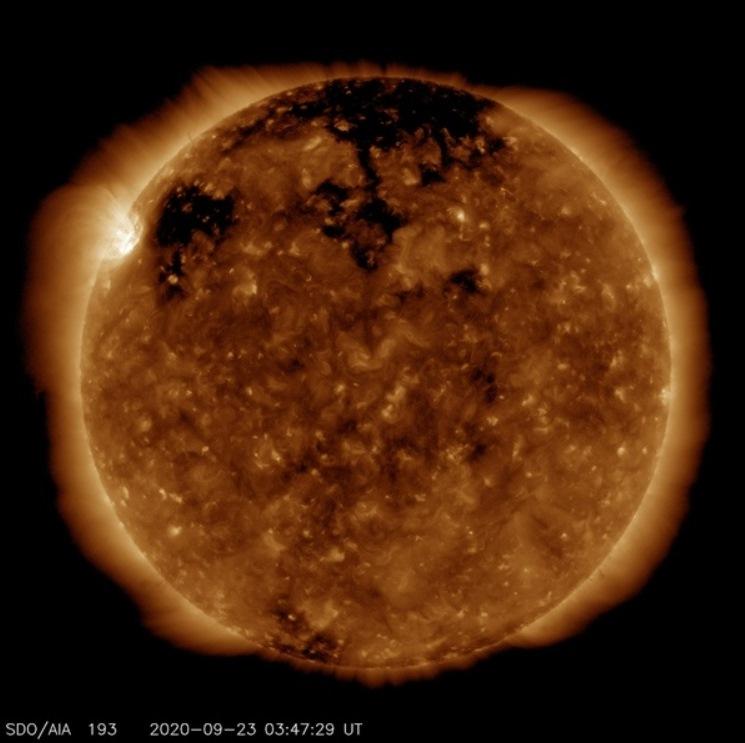 27сентября ожидается магнитная буря уровня G-1