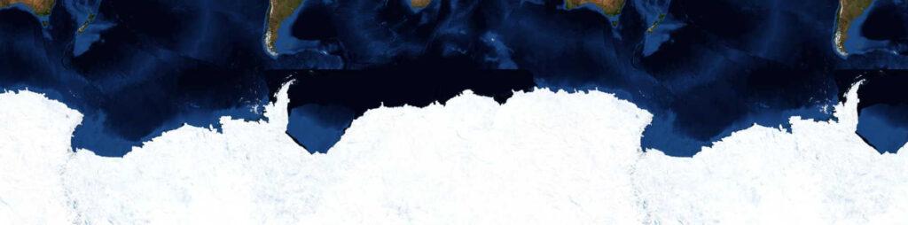 ВАнтарктиде нашли огромный черный диск