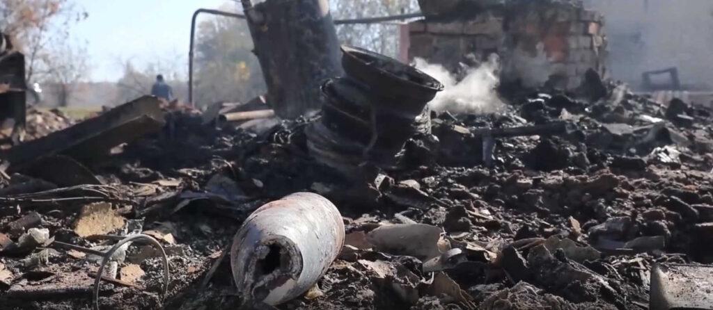 Опубликовано видео деревни, сгоревшей отпожара наскладе боеприпасов вРязанской области