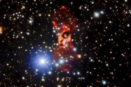 Вместо взрыва новой обнаружено неизвестное космическое явление