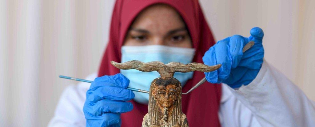 ВЕгипте нашли шахты со100 саркофагами