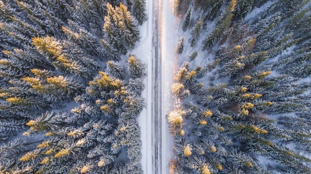 Аномальные морозы охватили почти половину территории России