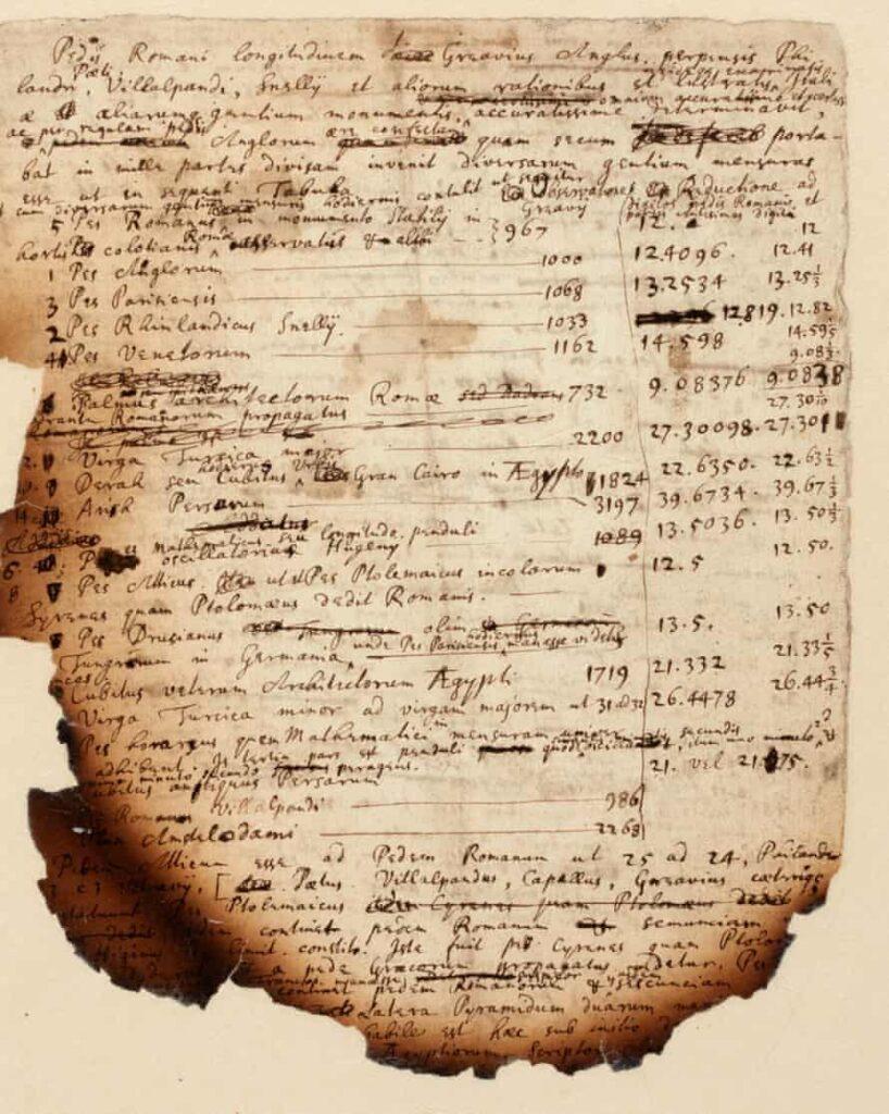 njuton rukopis