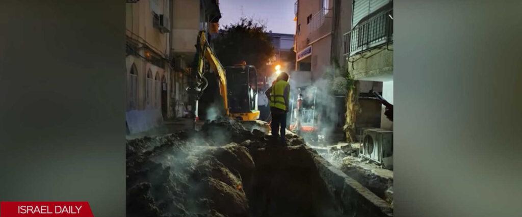 ВТель-Авиве понеизвестной причине плавятся тротуары