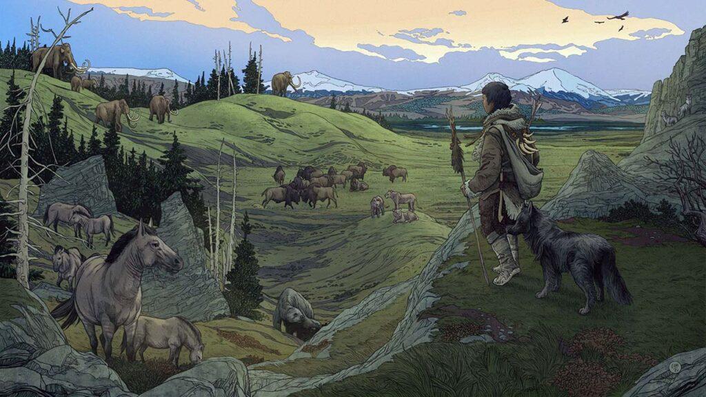 Древние люди пришли вАмерику вместе сосвоими собаками