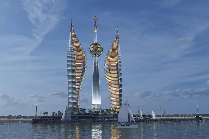 Автор «зомби-хауса» спректировал самое высокое здание вАфрике