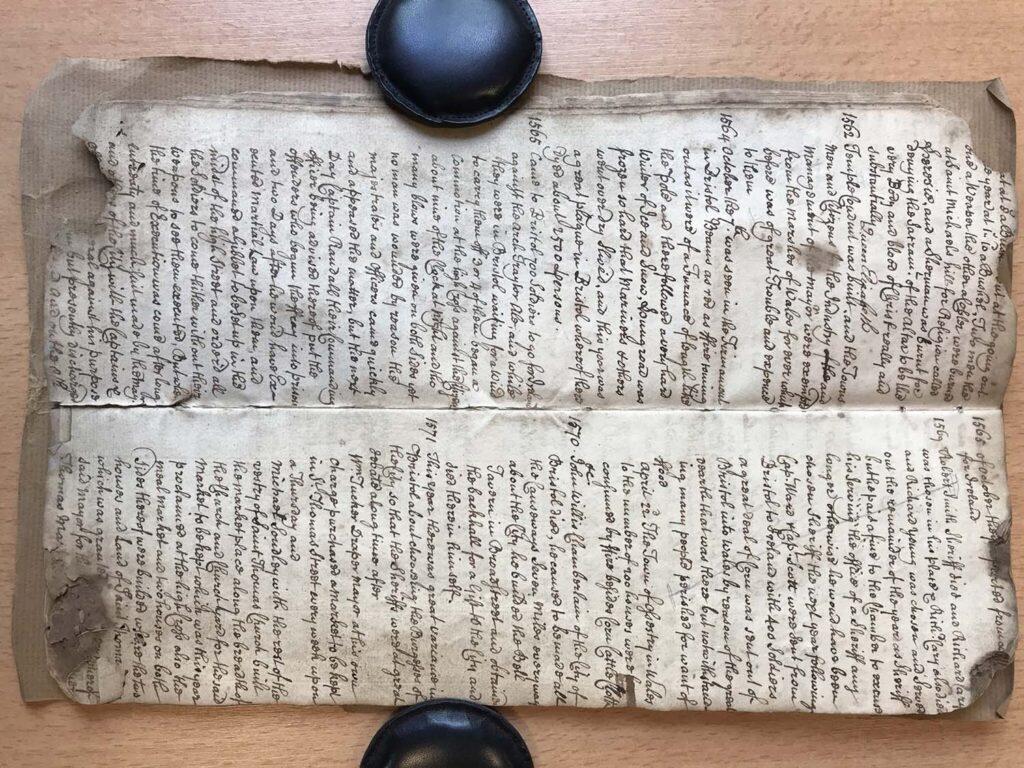 Найдена средневековая рукопись срассказом опогодных катаклизмах