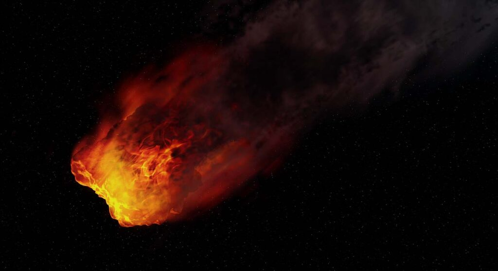 КЗемле соскоростью 41,7 тысячи кмвчас летит 32-метровый астероид