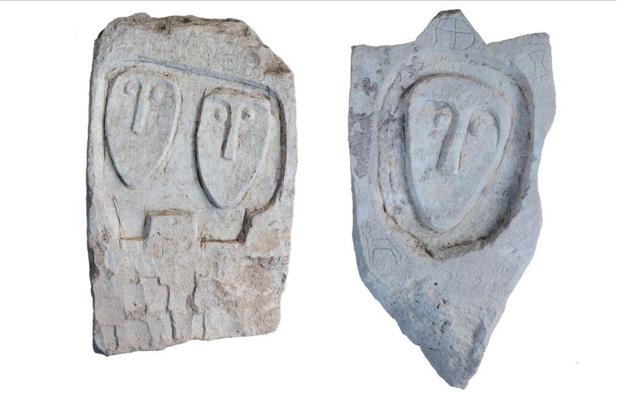 Десятки древних скифских надгробий сличинами нашли под Севастополем