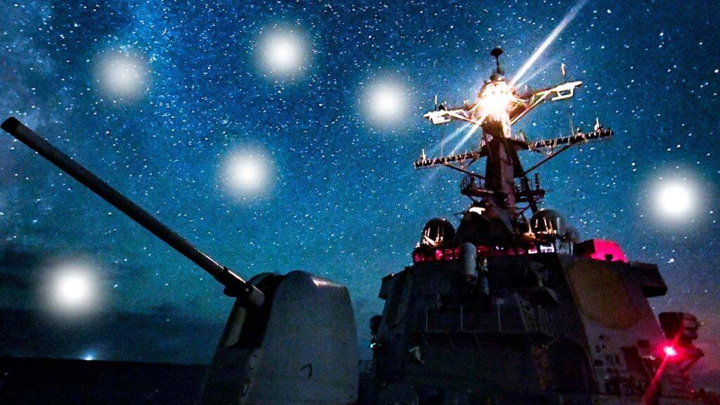Раскрыты факты многократных встреч американского флота сНЛО