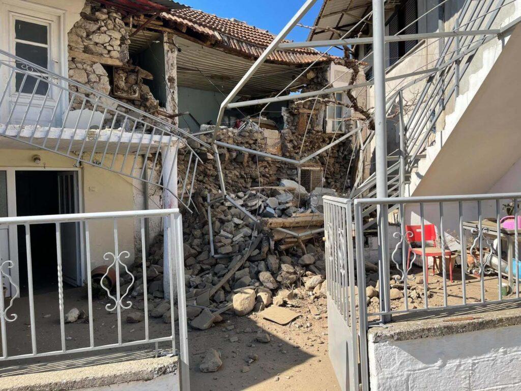 Грецию потрясло мощное землетрясение