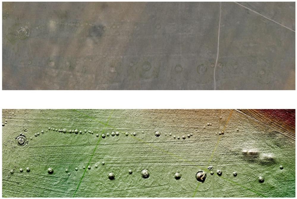 Вроссийской «Долине царей» учёные нашли тысячу археологических объектов спомощью аэросъемки
