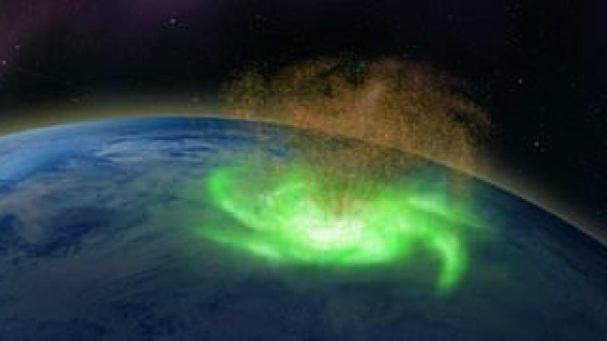 Над северным полюсом прошел плазменный ураган