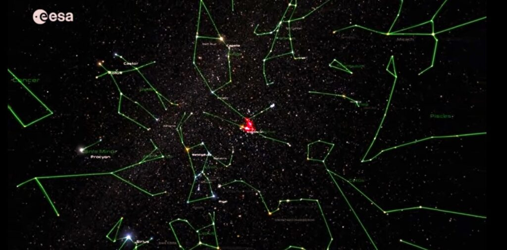 Близкое кЗемле звездное скопление разрушается под действием неизвестного огромного объекта
