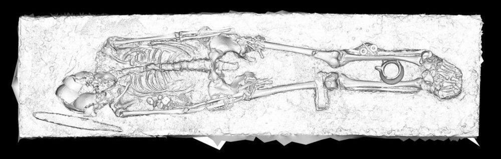 Под Новороссийском нашли останки людей свытянутыми черепами