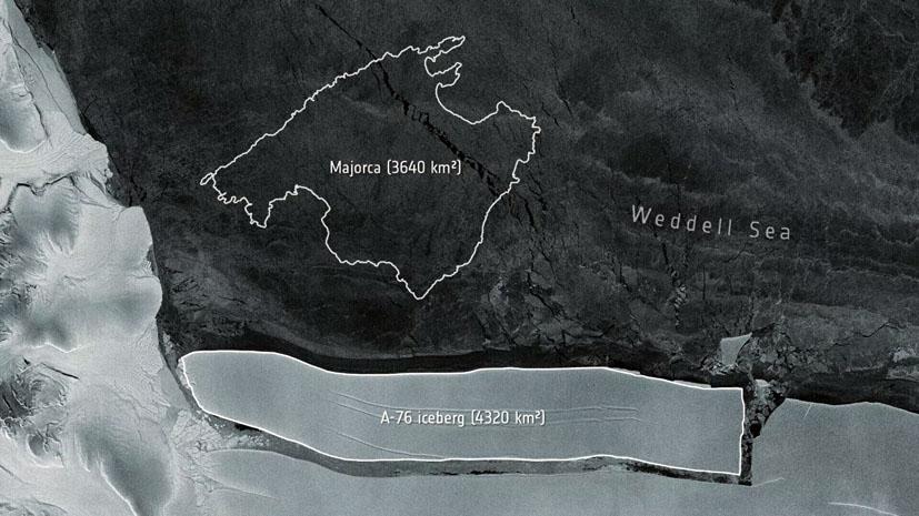 gigantskij ajsberg a 76