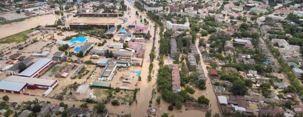 Градовые штормы ипотопы прошли вКрасноярском крае ивКрыму