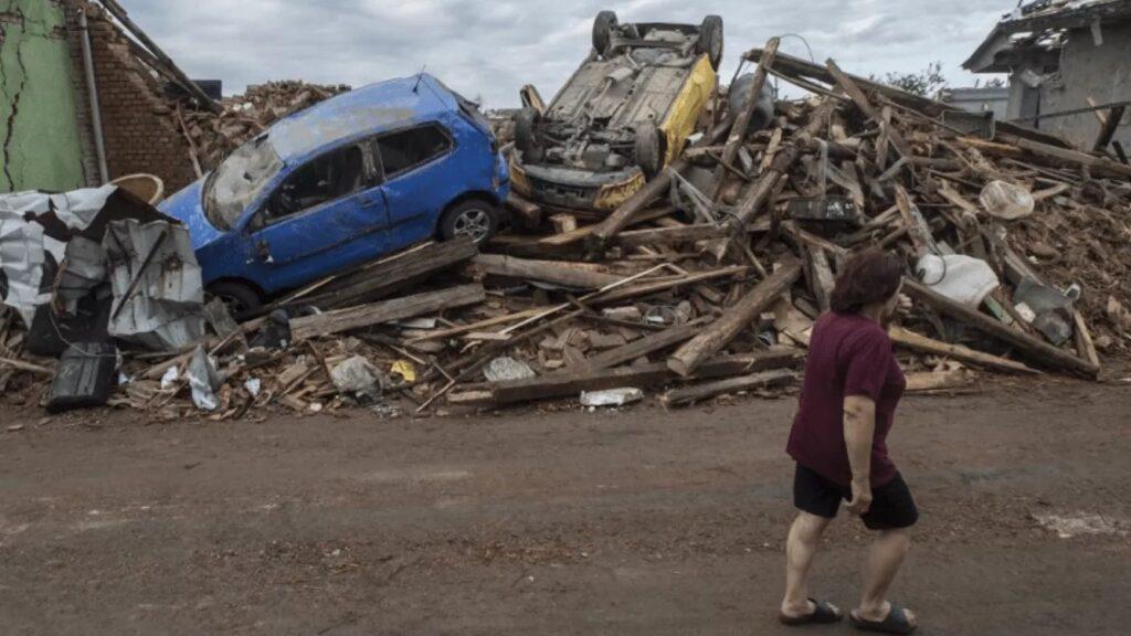 ВЧехии из-за торнадо погибли 5 человек ипострадали сотни
