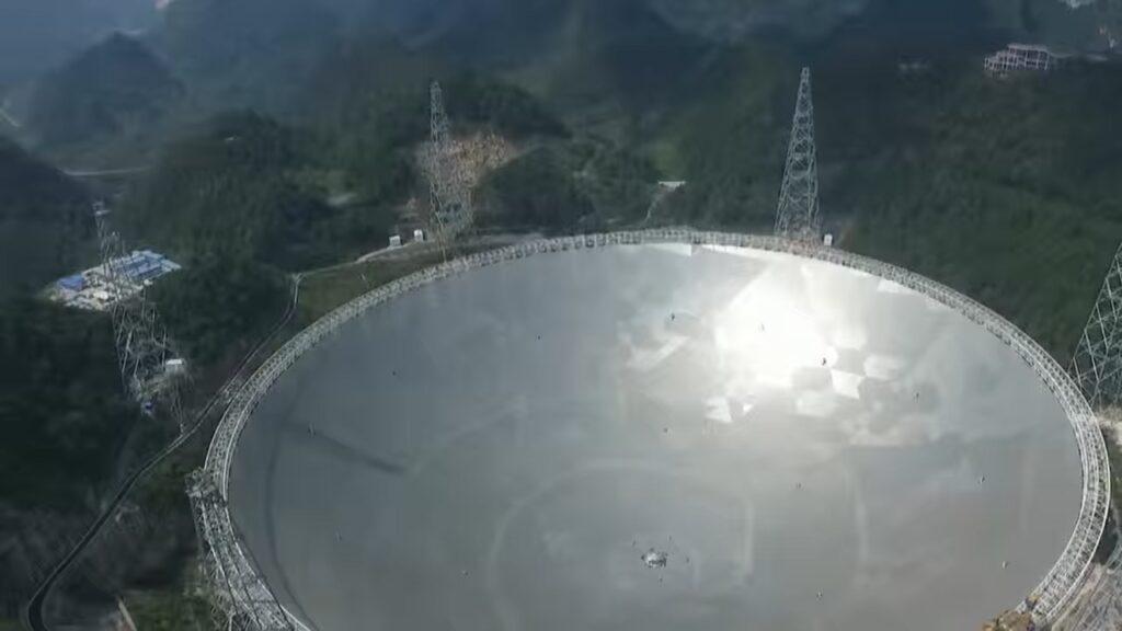 Построен телескоп для поиска инопланетных космических кораблей